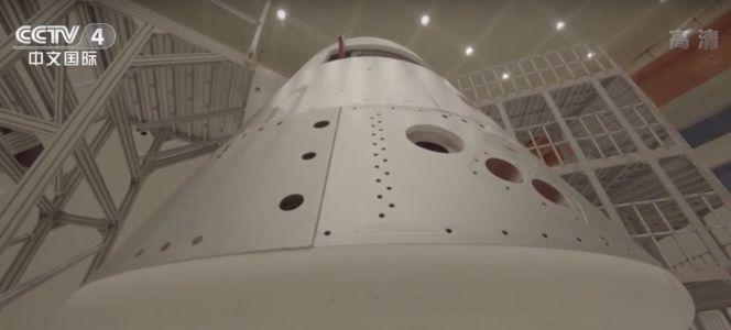 Prototypes for new Chinese crew capsule and space station arrive at launch site