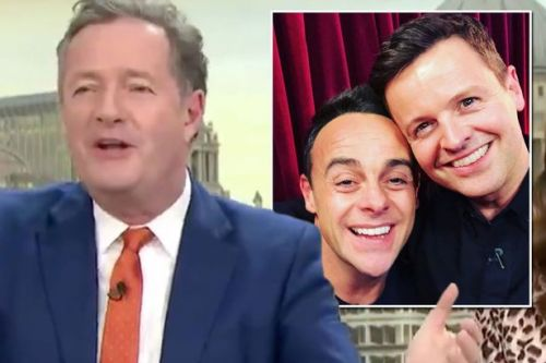 Piers Morgan 'QUITS' GMB after Ant's NTAs win despite 'worst year of his career'