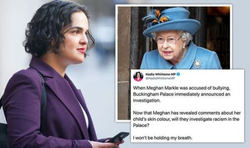 Oprah interview: Labour MP asks for 'racism investigation at Palace' after Meghan claims