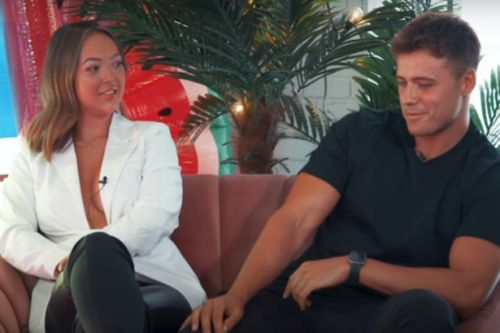 Love Island's Sharon and Brad enjoy meal together but he can't use chopsticks