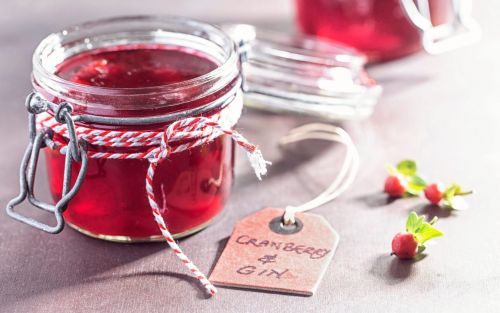 Cranberry and gin jelly recipe