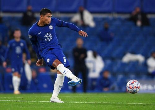 Frank Lampard rates Thiago Silva's first Champions League performance for Chelsea