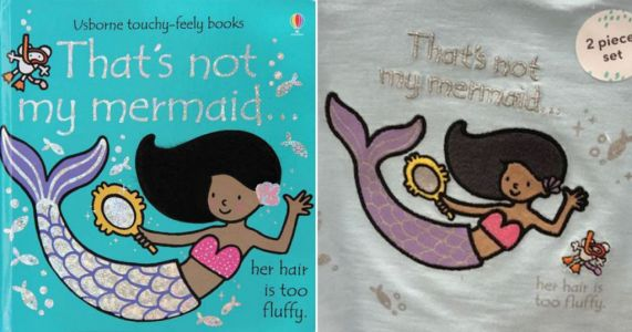 Tesco apologises for child's top with 'unacceptable' message about black mermaid