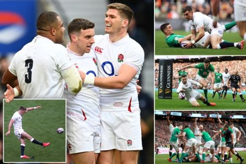 England 24-12 Ireland: Red Rose bounce back from France defeat with emphatic win