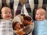 Bode Miller's wife shares adorable video of her two-month-old sons