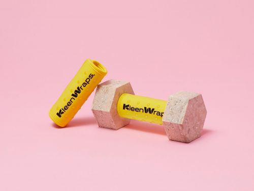 In the age of COVID-19, gym-goers are looking for safer ways to work out. KleenWraps microbial wraps aim to provide the solution