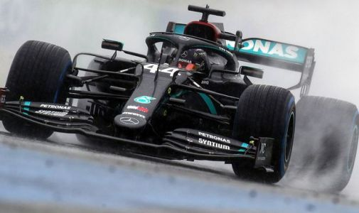 Styrian GP Qualifying: Lewis Hamilton claims wet-weather pole position
