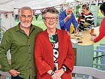 Paul Hollywood and Prue Leith celebrate ten series of The Great British Bake Off