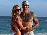 Christina Haack EXCLUSIVE: She wears a huge diamond ring while on the beach with Joshua Hall