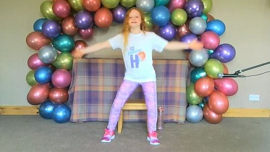 This 9-year-old schoolgirl is streaming fitness classes to 150 care homes across the world