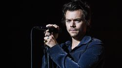 Harry Styles Sports Fishnets And Not Much Else In New Photo-Shoot And It's A Lot