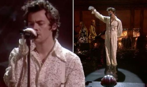 Harry Styles leaves BRITs viewers in tears wth performance after Caroline Flack tribute