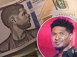 Usher 'DID tip Las Vegas stripper with real money'. after he was blasted for leaving fake bills