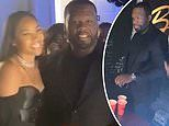 50 Cent and Cuban Link debunk breakup rumors and play beer pong during his 45th birthday bash