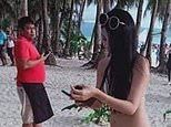 Taiwanese tourist is fined for wearing bikini 'that was basically just a piece of string'