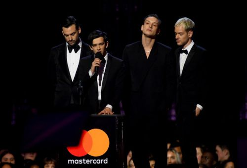 Brit Awards 2019: The 1975's Matty Healy Calls Out Misogyny In Music Industry During Acceptance Speech