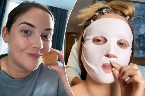 Jacqueline Jossa shares hilarious videos of herself getting ready for the National Television Awards