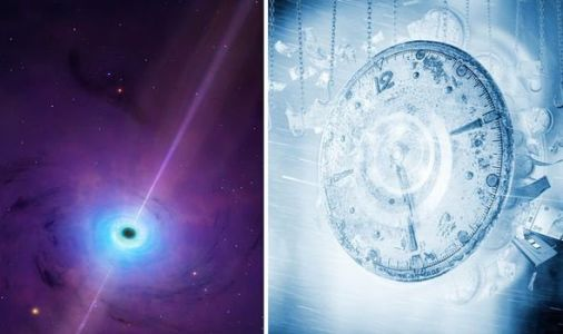 Black holes may be the key to time travel and make 'billions of years pass in minutes'