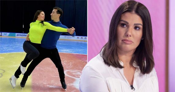 Rebekah Vardy quits social media as she prepares for Dancing On Ice 2021 debut