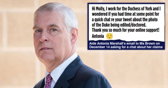 Prince Andrew's team 'asked ex-model for help discrediting Virginia Roberts'