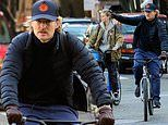 Owen Wilson rides bikes with mystery blonde in NYC. after being cast in Disney+ series Loki