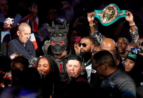 "Wilder's £31k Fury ring walk outfit made by designers Cosmo and Donato and blasted as ""too heavy"" by Bronze Bomber"