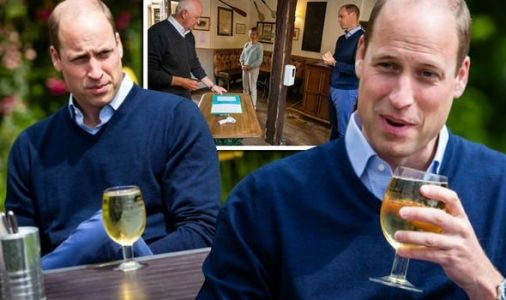 Prince William teases landlord as he beats punters for a pint - 'I don't know where I pay'