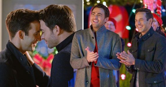 Hallmark drops first Christmas movie with lead gay couple starring Mean Girls actor Jonathan Bennett