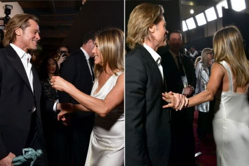 Truth about Brad Pitt and Jenifer Aniston's SAG Award reunion exposed