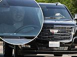 Michael Jackson's youngest son Blanket Jackson takes a rare turn behind the wheel to pick up food