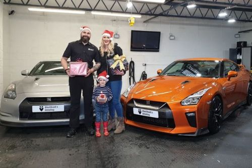 Coatbridge foodbank to benefit from toy drive by car business