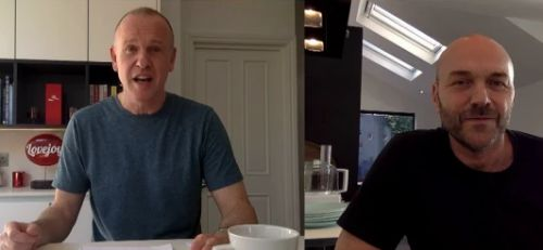 Sunday Brunch cancel live studio show last minute as hosts Tim Lovejoy and Simon Rimmer present from their homes