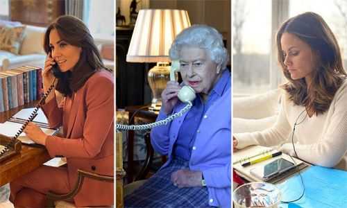 Inside the royal family's amazing home offices where they are working amid coronavirus