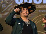Andy Ruiz Jnr defends weight gain ahead of rematch against Anthony Joshua after weighing in at 283lb