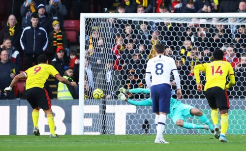 Watford 0 Tottenham 0: New boy Pussetto makes crazy goal-line clearance on debut to deny Spurs win