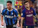 Barcelona 'agree personal terms with Lautaro Martinez. but must sell outcast Phillipe Coutinho'