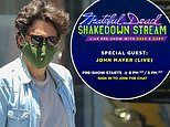 John Mayer rocks mask in Beverly Hills. ahead of Grateful Dead streaming event