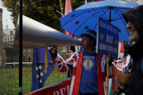The Man Who Spends His Day Shouting 'Stop Brexit' Through A Megaphone Is Standing As A Lib Dem