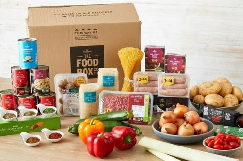 Morrisons now sells a £30 food box that can feed a family of four
