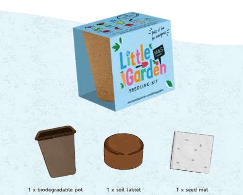 M&S replaces Little Shop plastic toys with Little Garden collectable seed kits