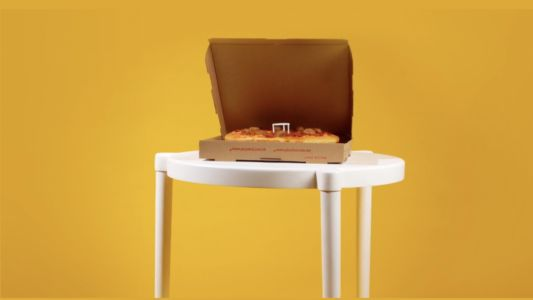 Ikea and Pizza Hut Collaborate on a Pizza, and a Table Based on the Ones in Your Pizza Box