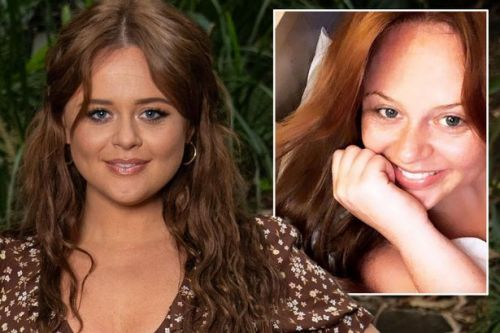 I'm A Celebrity host Emily Atack shares intimate snap from bed before launch show