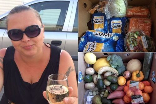 Woman explains how she bagged huge Morrisons food box for just £3