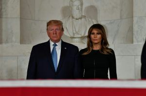 Is this why Donald Trump and Melania don't sleep in the same bed?