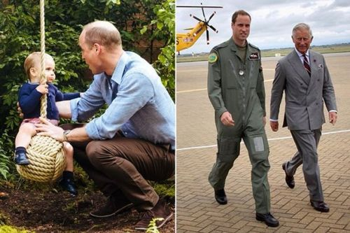 Proud dad Prince William plays with Louis in adorable Father's Day tribute