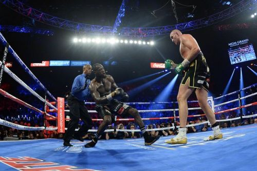 Fury vs Wilder trilogy fight targeted for new 65,000-seater Las Vegas stadium