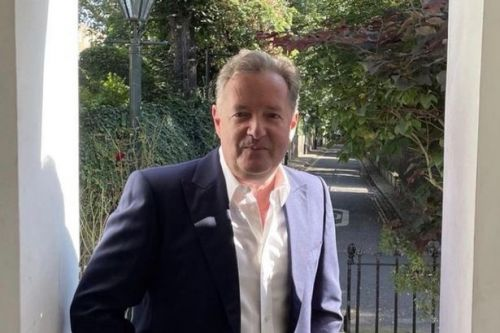 Piers Morgan constructs 'spaceship' as son Spencer shares glimpse of London garden