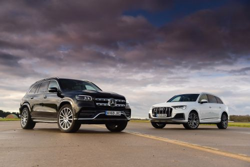 Mercedes GLS vs Audi Q7