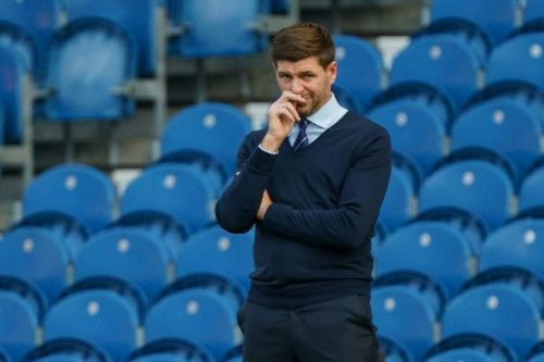 Rangers manager Steven Gerrard makes 'moaner' admission