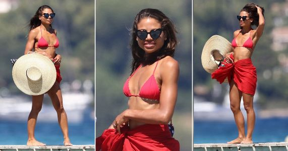 Viscountess Emma Weymouth relaxes in St Tropez before Strictly Come Dancing madness